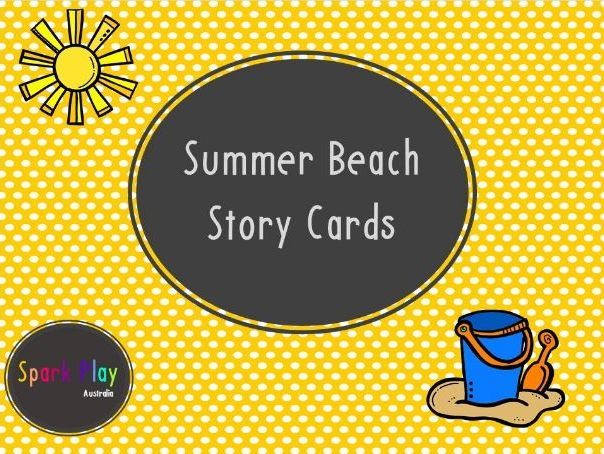 Summer Beach Story Cards