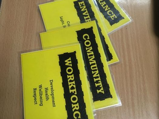 Discussion Cards Considerate Constructors Scheme  -  code of practice, behaviour
