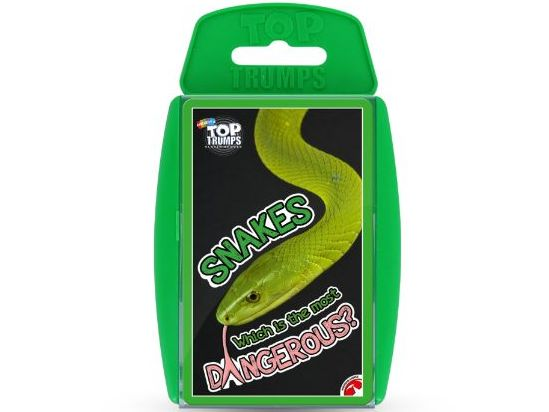 Snakes Official Top Trumps - Full Deck