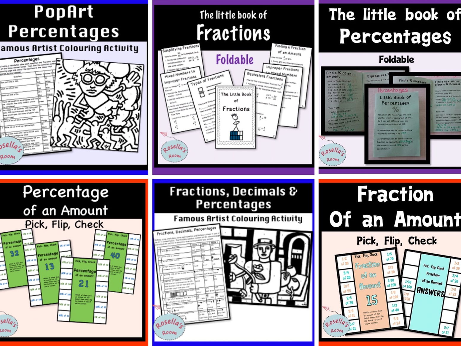 Fractions and Percentages - Big Bundle