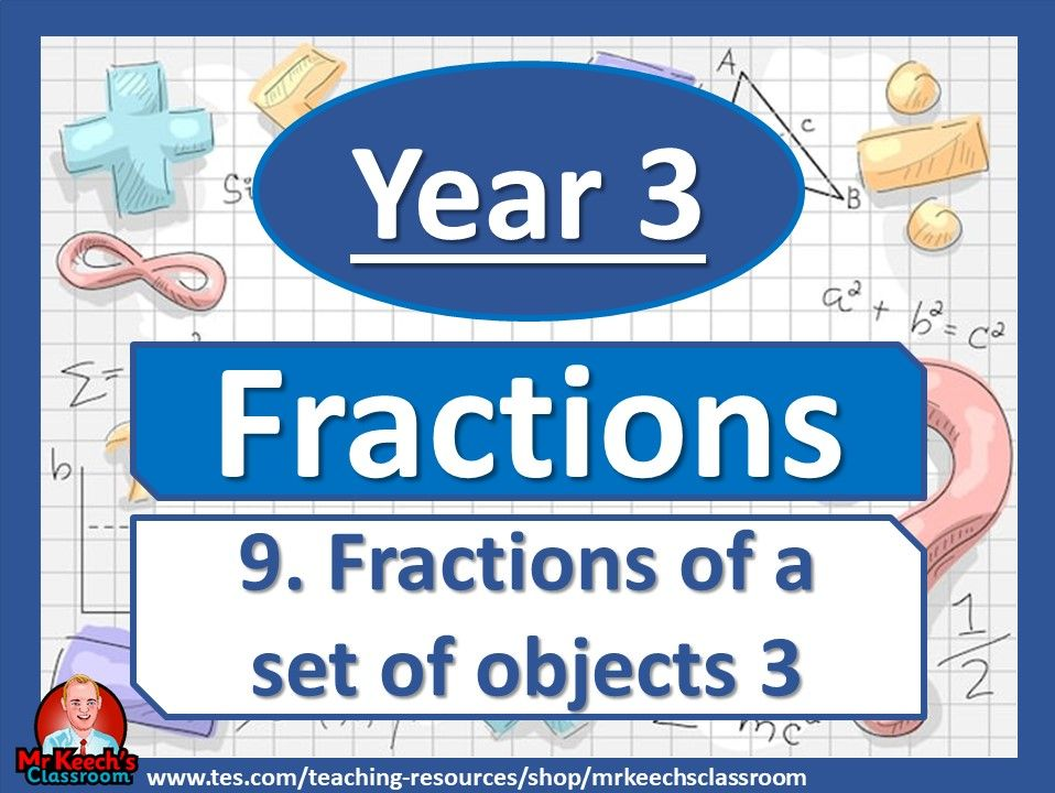 Year 3 – Fractions – Fractions of a set of objects 3 - White Rose Maths