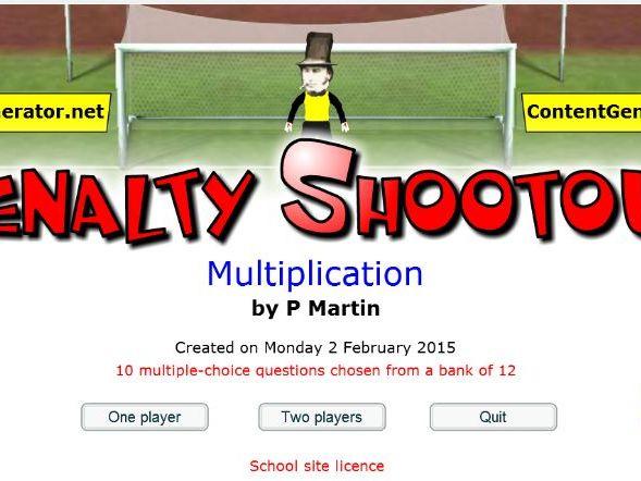 Multiplication - Starter or Plenary