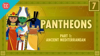 Crash Course Mythology #7 Pantheons of the Ancient Mediterranean  Q & A