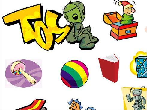 30 Toys to Name and Label