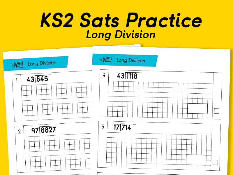 KS2 SATS Practice with Long Division