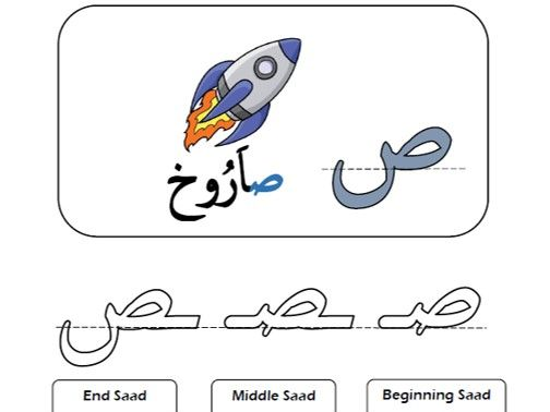 Arabic Phonics  Alif to Saad