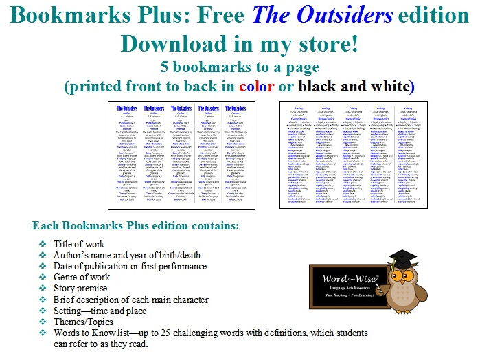 Woods Runner edition of Bookmarks Plus: Fun Freebie and a Handy Little Reading Aid!