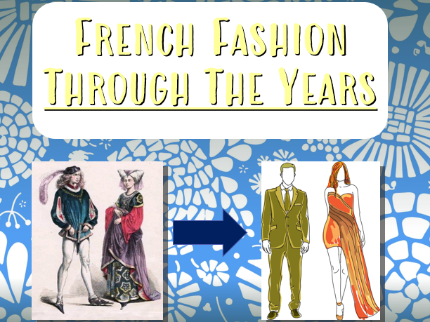 French Fashion Through The Years