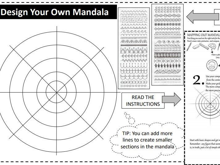 Design your own Mandala