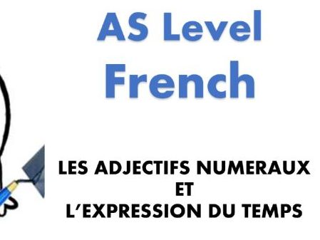 Numerals_French A/AS Level