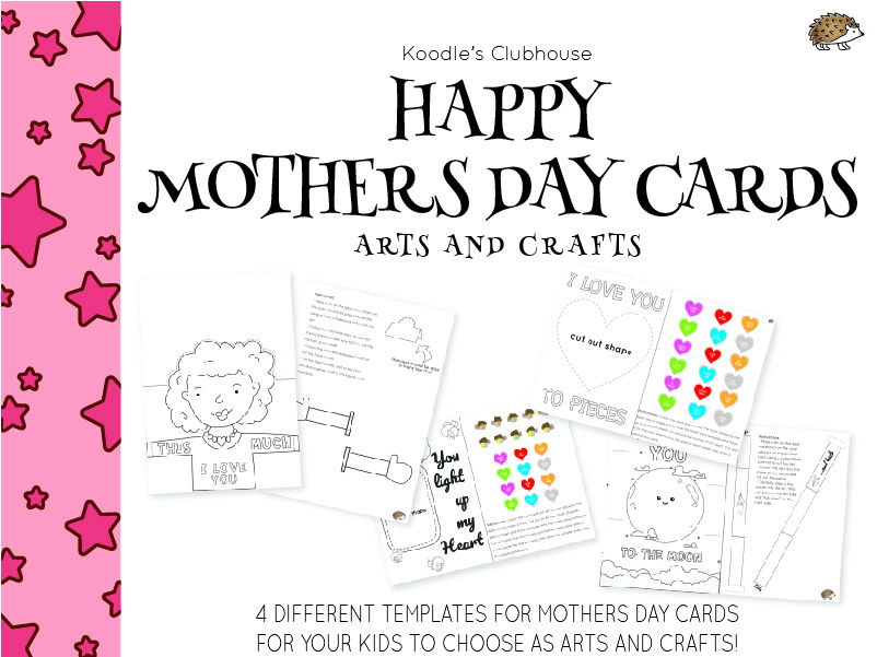 Mothers Day Cards arts and crafts