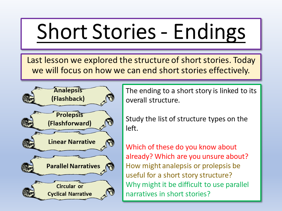 Short Story Endings