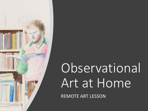 Art REMOTE lesson