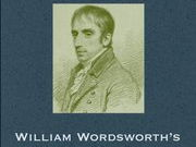 Year 10/11: 'The Prelude' by William Wordsworth