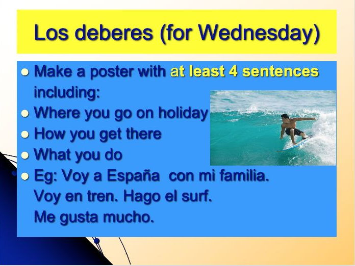 26 x Year 7 Spanish Lessons - Term 3