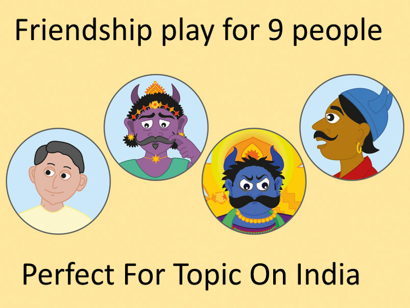 Long Live Friendship! A Humorous Play for Children
