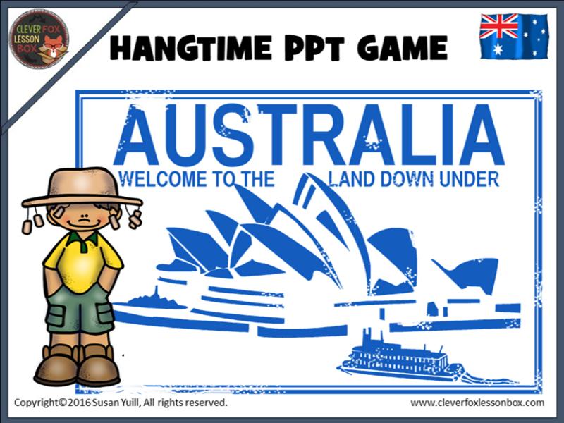 Australian Things PowerPoint Game