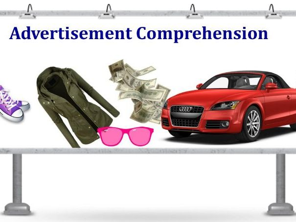 7 Advertisement Comprehensions