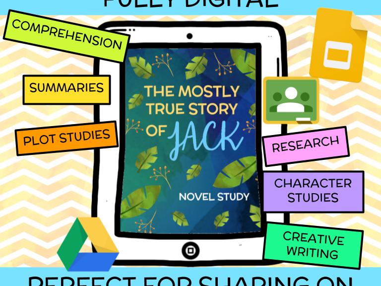 The Mostly True Story of Jack Novel Study