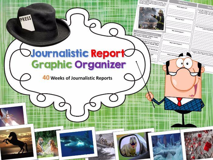 Journalistic Writing Prompts Bundle