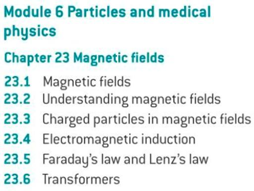 OCR A level Physics: Magnetic Fields