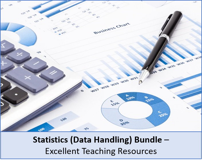 Statistics: Complete data handling BUNDLE, perfect for KS3 and KS4 and IGCSE