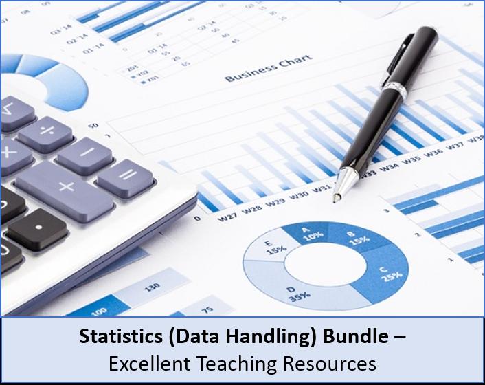 Statistics: Complete data handling BUNDLE, perfect for KS3 and KS4 and IGCSE