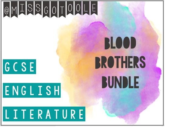 Blood Brothers Resource Bundle