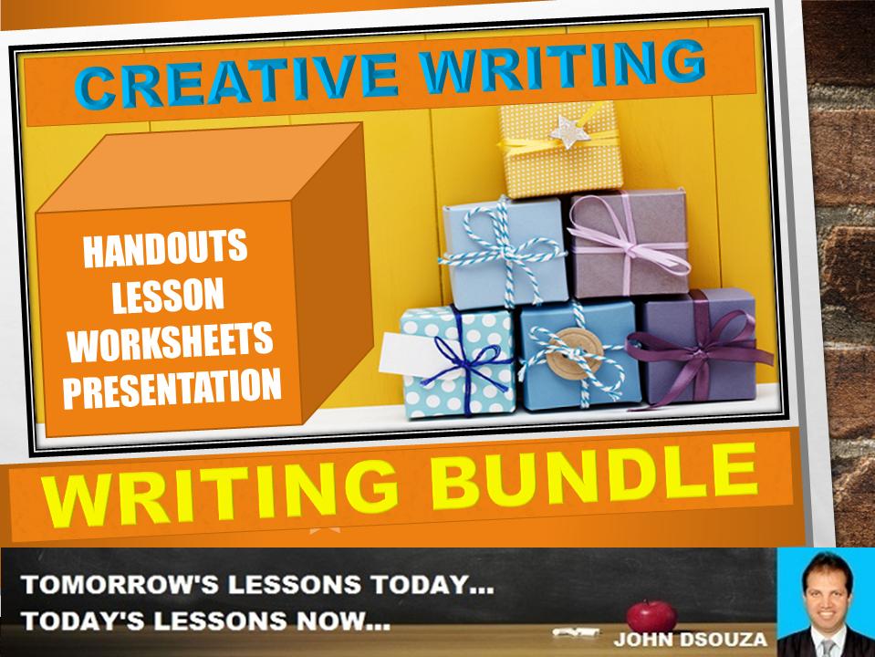 CREATIVE WRITING: BUNDLE