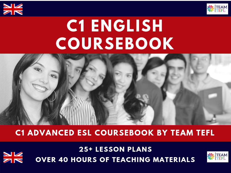C1 Upper-Intermediate English Complete Coursebook For ESL