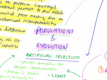 NEW AQA Biology - Section 7 - Populations and evolution