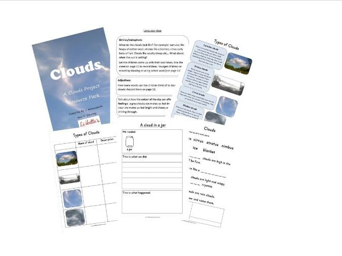 Clouds Project Resource Pack KS1
