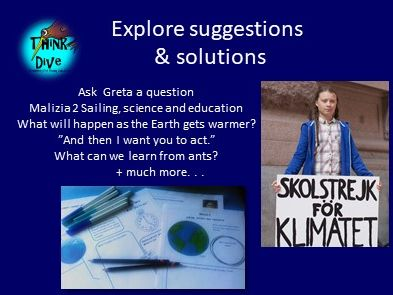 Greta Thunberg - Explore suggestions & Solutions, KS1, NGSS