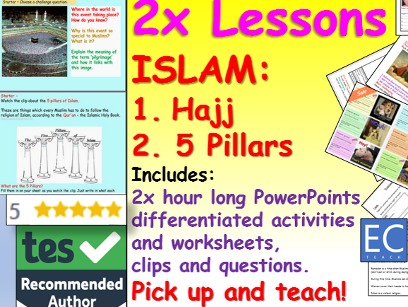 Hajj and 5 Pillars