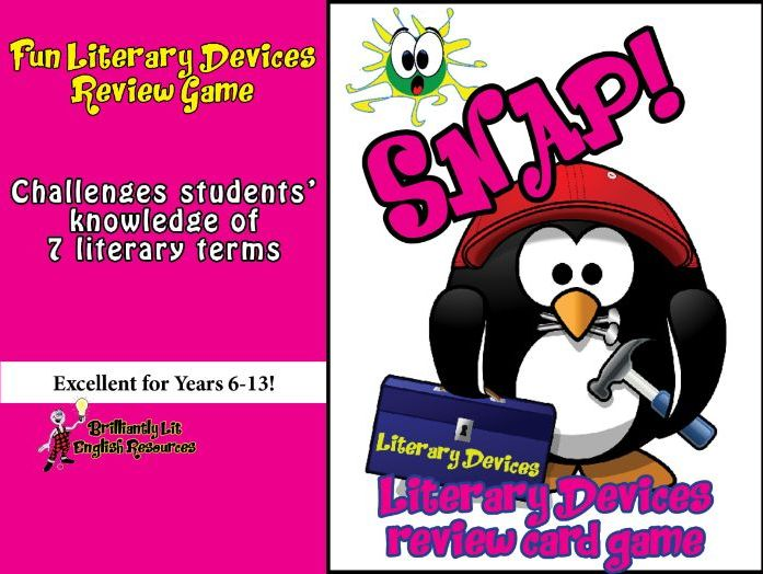Literary Devices Review Game- SNAP!
