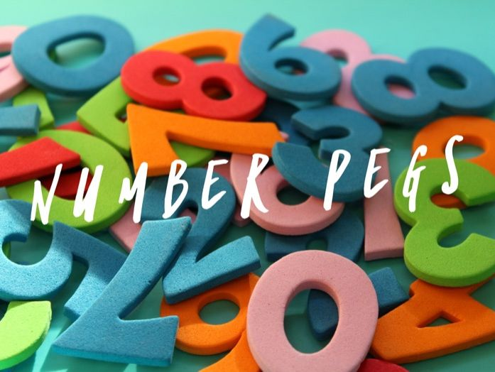 Number Pegs - Representing Numbers