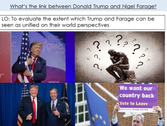 The growth of populism - Why did Farage and Trump gain power?