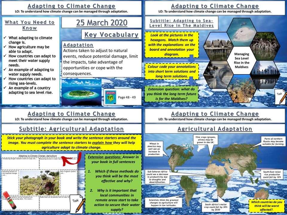 Climate Change: Adapting To Climate Change