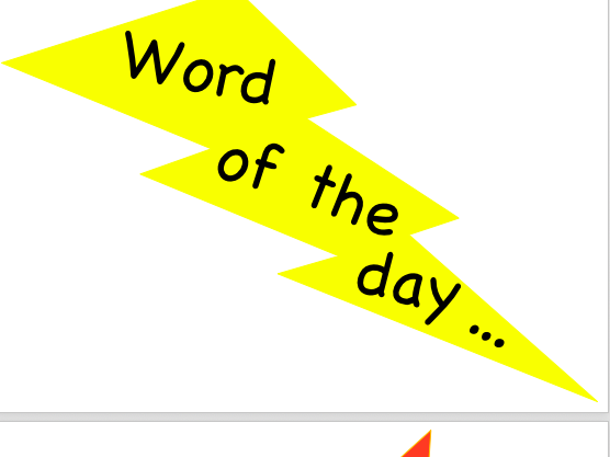 Word of the day display