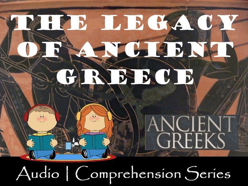 The Legacy of Ancient Greece | Distance Learning | Audio & Worksheets
