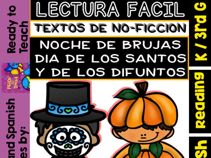 Non-Fiction Texts in Spanish - Halloween/Day of All Saints/Day of the Dead