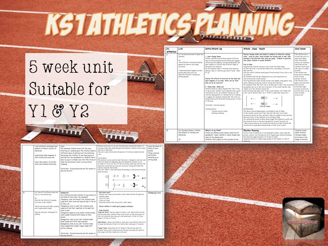 Athletics Planning for KS1 (5 weeks)