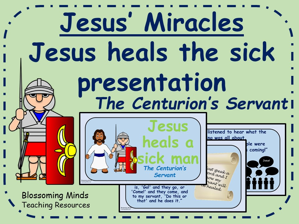 Jesus' Miracles - RE/assembly presentation - Jesus heals the sick story