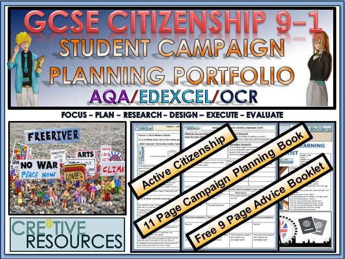 GCSE Citizenship 9-1 - Active Citizenship Campaign booklet
