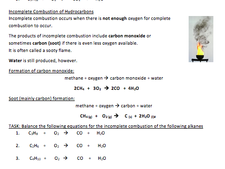 AQA GCSE Chemistry Combined (Double) Organic Chemistry Booklet