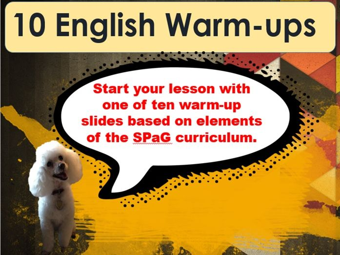 English Warmup Multi-pack (10 Daily Tasks) KS2