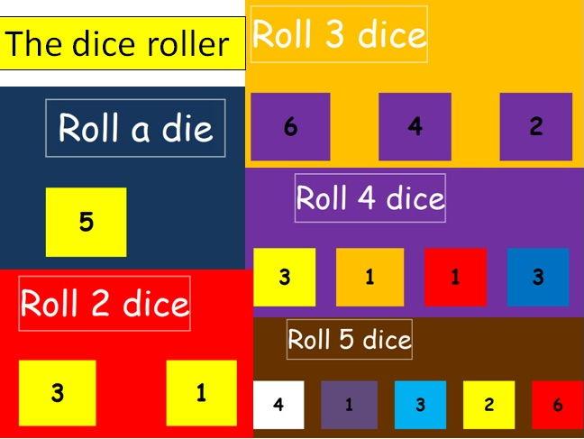 Dice roller tool