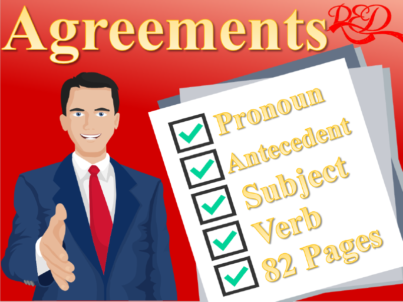 Agreements, Subject, Verb, Pronouns