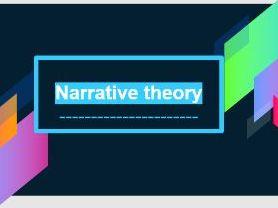 Pearson BTEC Creative Media: Exploring media products - Learning aim B - Narrative theory