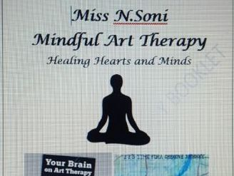 Mindful Art Therapy Booklet for Stress and Anxiety
